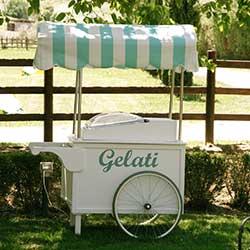 Noleggio carretto gelati feste Roma