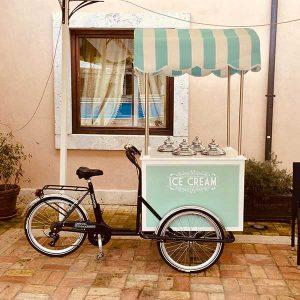 Carretto gelati deluxe Roma1
