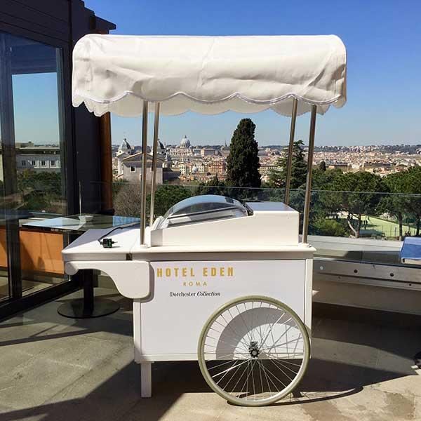 Carretto gelati roma