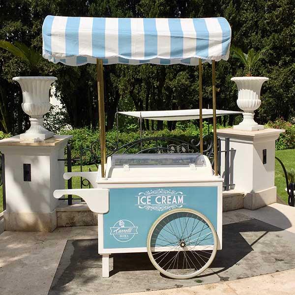 Carretto gelato event Roma 1