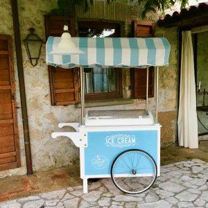 Carretto gelato event Roma2