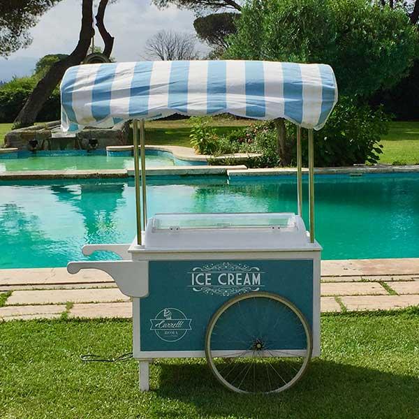 Carretto gelato event Roma 4