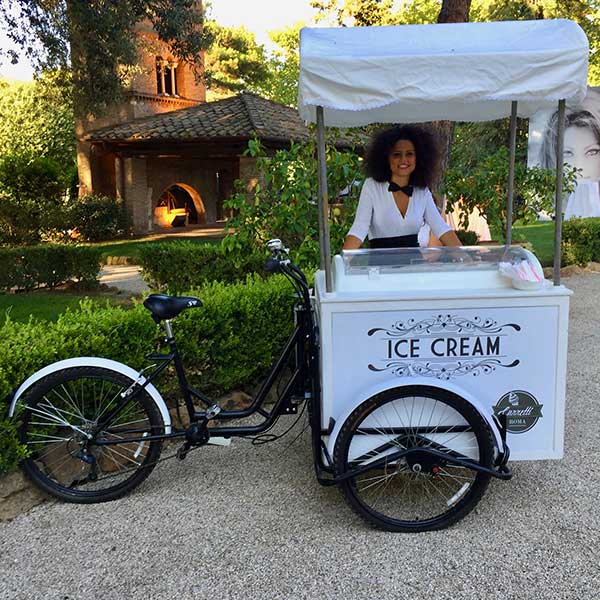 Carretto gelati wedding Roma 2