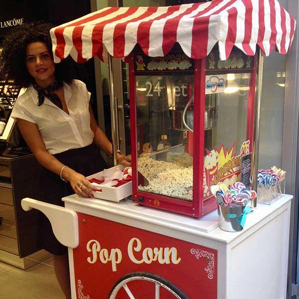 Carretto pop corn Roma 3