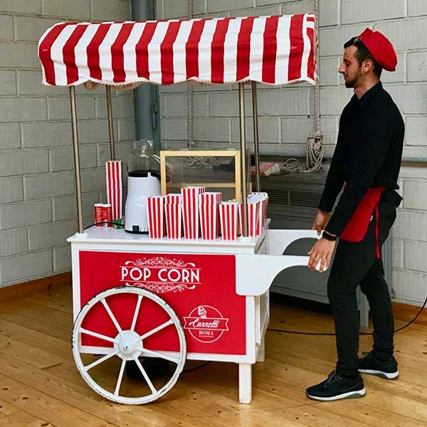 Carretto pop corn Roma