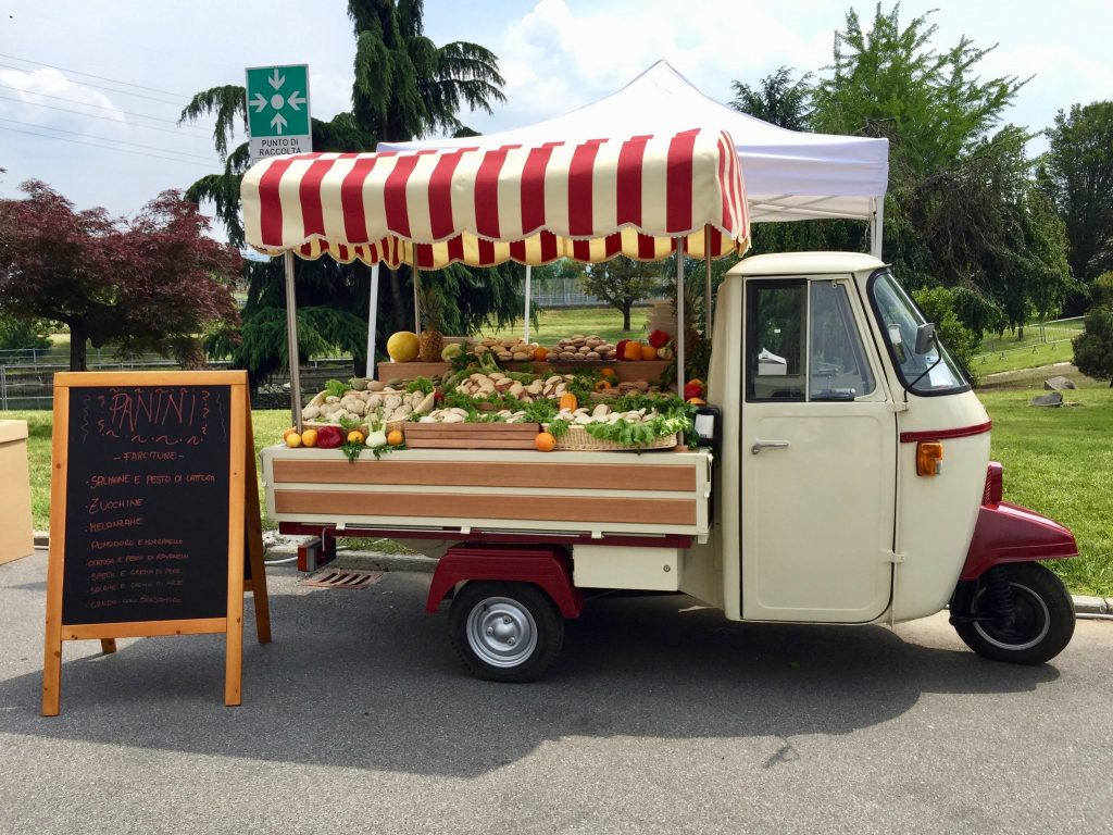 Ape street food per feste ed eventi a Roma