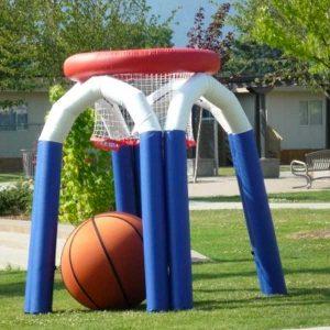 Noleggio basket gigante gonfiabile Roma