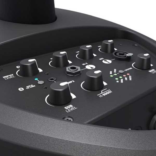 Noleggio impianto audio a batteria Roma