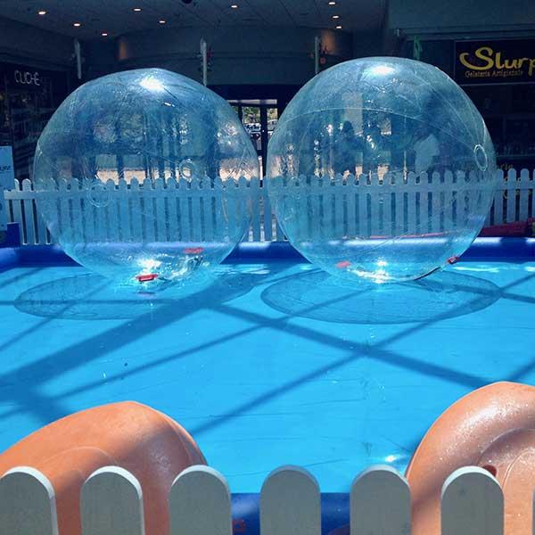 Noleggio piscina water ball Roma