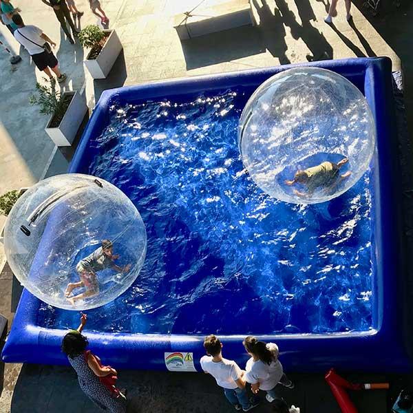 Noleggio water ball Roma